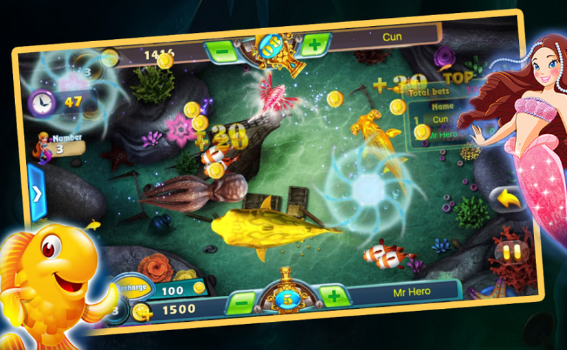 Guide and Strategy in the Online Fish Shooting Games